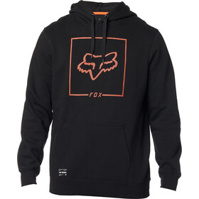 Fox Chapped Fleece Pullover Men, black/orange